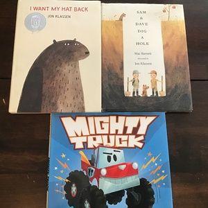 3 hardcover children's story books